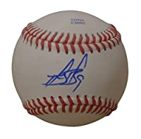 San Francisco Giants Brandon Belt Autographed Hand Signed Baseball with Proof Photo of Signing and COA