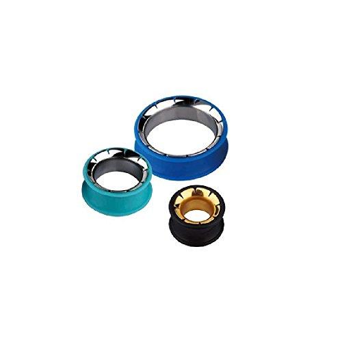 black 26 mm silicone plugs - 6
