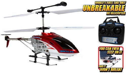 Hercules Unbreakable 3.5CH RC Helicopter (Colors May Vary)