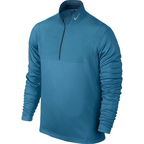 Nike Golf Dri-FIT 1/2-Zip Top LT BLUE LACQUER/BLUE FORCE/WOLF GREY S