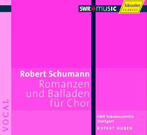 (Romances & Ballads for a Cappella Choir by R. Schumann (2010-04-27) )