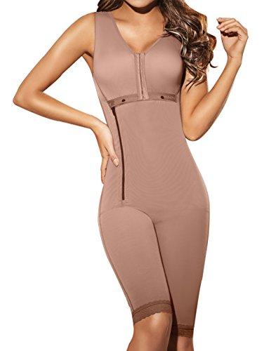 Ann Chery 5010 Women's 5010 Powernet Scarlett Shapewear X-Small Brown