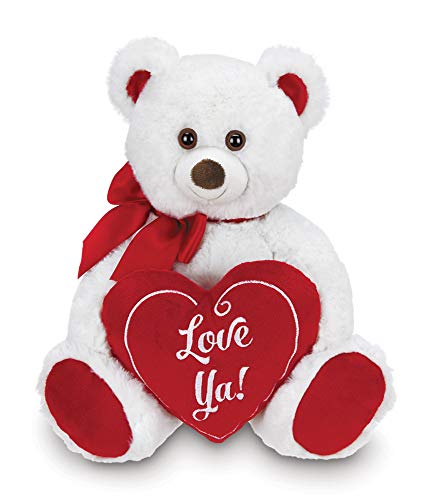 Bearington Beary Bigheart Plush Stuffed Animal Teddy Bear with Heart, 12 inches ()