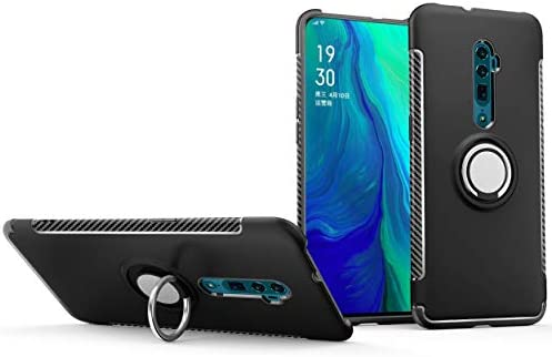 Oppo Reno 10x Zoom case with ring bracket, PC hard shell and
