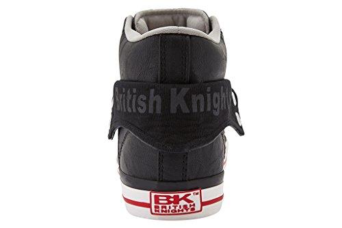British KnightsRoco - Zapatillas Mujer Negro / rojo
