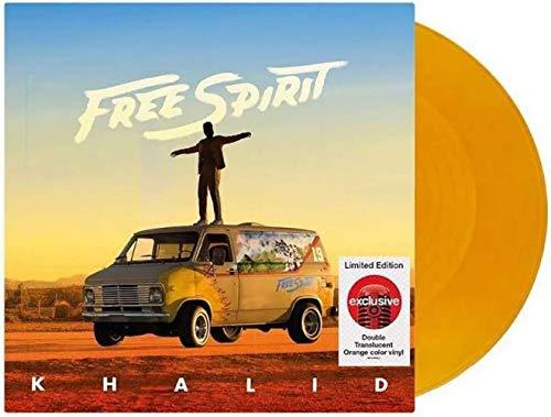 - Free Spirit - Exclusive Limited Edition Translucent Orange 2XLP Vinyl (Poster + Bonus Track Included) [Condition-VG+NM]