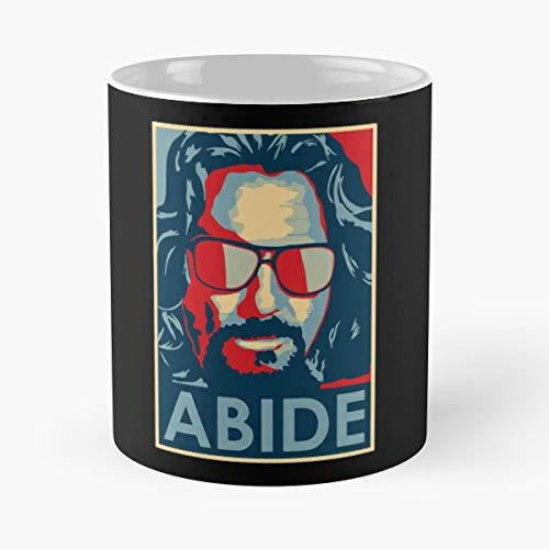 The Dude Abides Big Lebowski Sweater - Ceramic Novelty Cup Best Gift For Father Day -