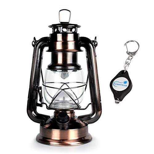 WeatherRITE 5572 15 LED Number-5572 Outdoor Traditional Look Lantern with efficient LED Lighting with Free Keychain Light ()
