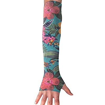 Summer Day Unisex Half Finger Arm Support Sleeve Breathable Sunproof Cuffs Daily Use