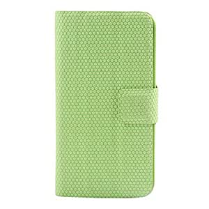 PU Leather Case with Magnet Stand for iPhone 4/4S (Assorted Colors) --- COLOR:Pink