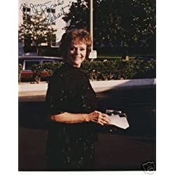 Original Hand Signed Photo June Lockhart