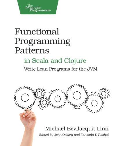 Functional Programming Patterns in Scala and Clojure by Michael Bevilacqua-Linn, Publisher : Pragmatic Bookshelf