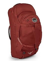 Osprey Packs Farpoint 55 Travel Backpack, Jasper Red, Medium/...