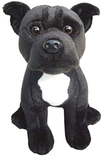 "English Bull Terrier puppy dog 12/"" soft toy Faithful Friends new"