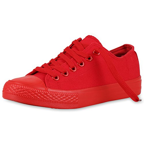 Best-bottes Dames Espadrille Pantoufle Baskets Basses Chaussures Sport Rosso Rouge Nuovo