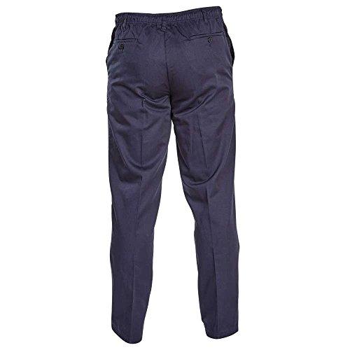 Pantalon Élastique Chinois Rugby Taille Button Basilio Duke D555 Bleu Homme xEwCqq4p