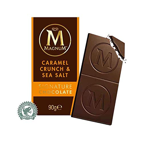 Algida Magnum Caramel Crunch & Sea Salt Signature Chocolate clásico Chocolate con leche con piezas de