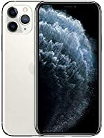 Apple iPhone 11 Pro (512GB, Silver) [Carrier Locked] + Carrier Subscription [Cricket Wireless] ($10/Month Amazon Gift...