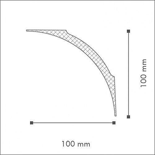 NMC Nomastyl Moulure NE4 Polystyr/ène