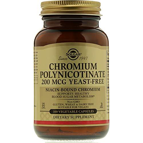 Chromium Polynicotinate 200mcg 100 Vcaps 2-Pack