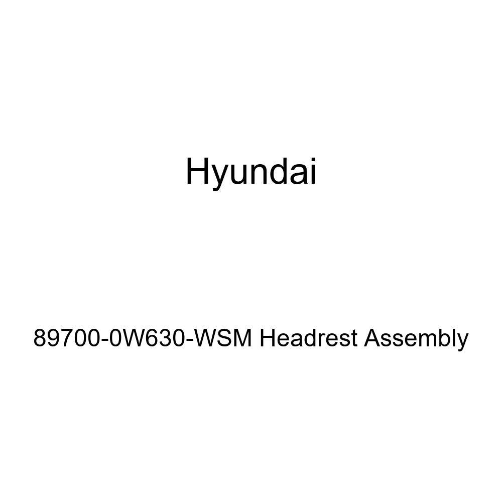 Genuine Hyundai 89700-0W630-WSM Headrest Assembly