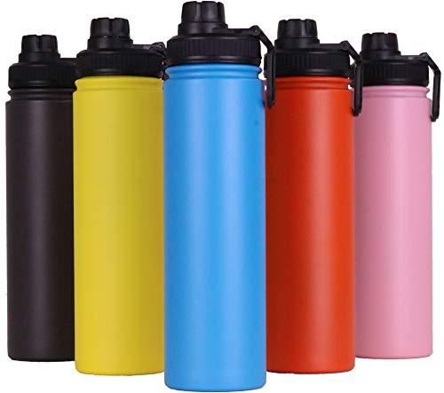 LUKS Stainless Steel Water Bottle 750ml (25oz) (Blue)
