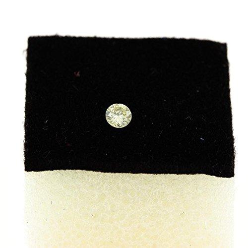 Diamant jaune 0.07 cts. VS. Afrique