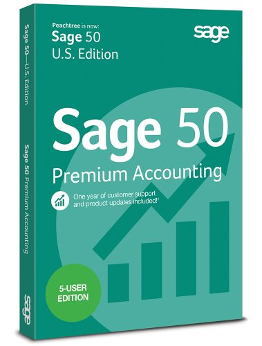 Sage 50 Premium Accounting 2015 (5-Users)