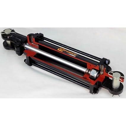 Inch Stroke Tie Rod Hydraulic Cylinder G-FORCE 11431 3-Inch Bore 14