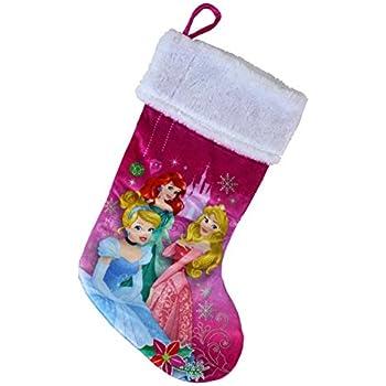 47511aac793f4 Disney Princess 18 Inch Plush Velvet Christmas Holiday Stocking - Cinderella