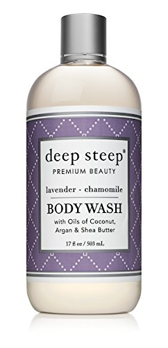 Deep Steep Body Wash, 17 Ounce (Lavender Chamomile)