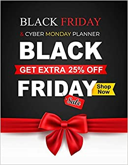Black Friday Cyber Monday Planner Mikimoto Murakami 9781729069554 Amazon Com Books