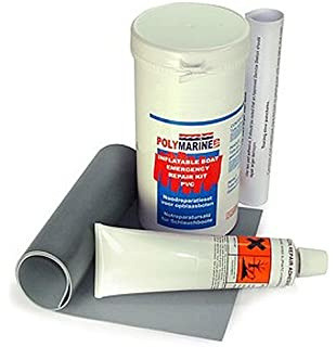 Polymarine – Barca hinchable Kit de reparación de emergencia – PVC (gris)