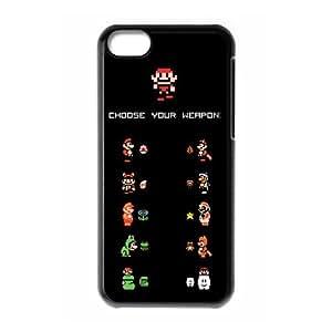 ANCASE Custom Color Printing Super Mario Phone Case For Iphone 5C [Pattern-4]