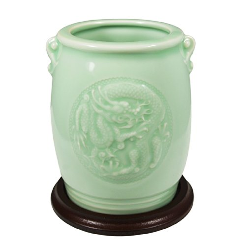 Wrapables Chinese Phoenix Celadon 4 5 Inch