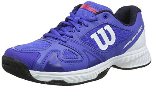 Unisex Adulto de Wilson 000 Blue Tenis Jr Pro Red 5 2 Neon Rush Dazzling White Azul Zapatillas rxz8YSxw