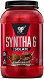 BSN SYNTHA-6 ISOLATE Protein Powder, Whey Protein Isolate, Milk Protein Isolate, Flavor: Chocolate Milkshake, 24 Servings