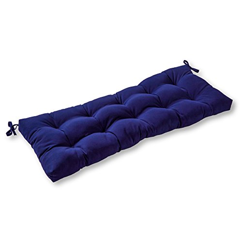 Greendale Home Fashions 46'' Outdoor Sunbrella Swing/Bench Cushion, Navy (Kohls Outdoor Patio Cushions)