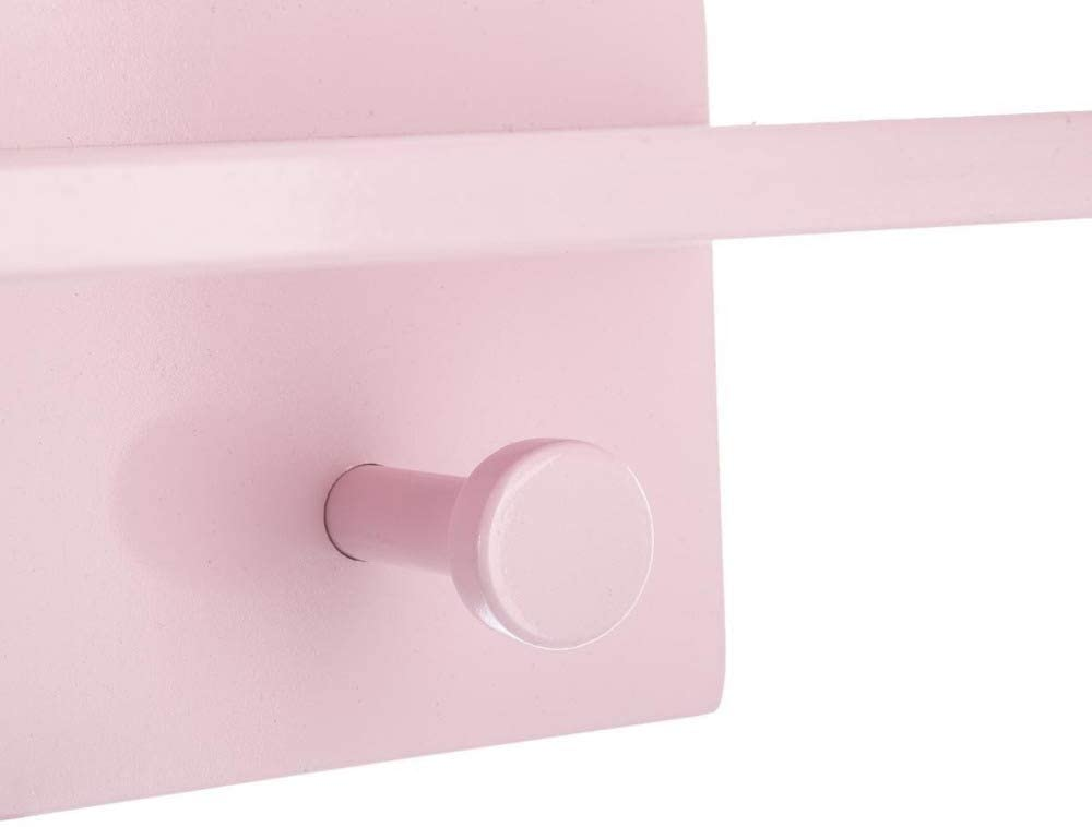 Color Rosa Estanter/ía de Madera para ni/ños Atmosphera 2 en 1 Colgador Forma Nube