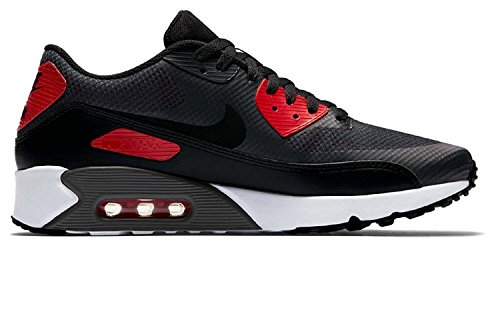 5f543554f2 Galleon - NIKE AIR Max 90 Ultra 2.0 Essential Mens Running-Shoes 875695-007_11  - Anthracite/Black-University RED-White