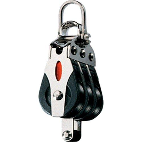 Ronstan Series 20 Ball Bearing Block - Triple - Becket - 2-Axis Shackle Head consumer electronics