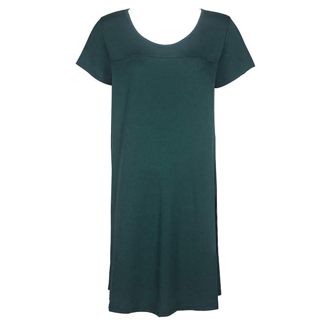 Juleya Short Sleeves Vestidos de Maternidad Ropa de enfermería para Mujeres Embarazadas Ropa de Dormir Lactancia