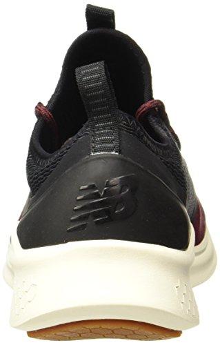 New Balance Chaussures Lazr Future Sport Noir/Bordeaux/Beige Taille: 42
