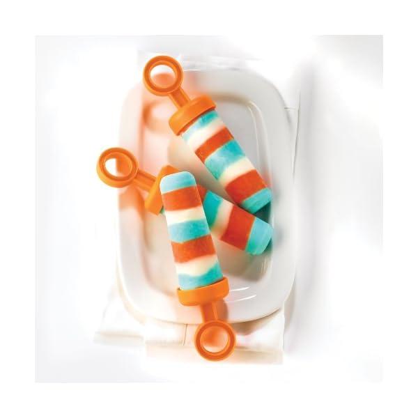 Cuisipro 837446 Set stampi per gelati/ghiaccioli, 85 ml 5 spesavip