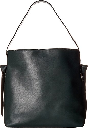 (French Connection Women's Aria Bucket Hobo Ink Green One Size)