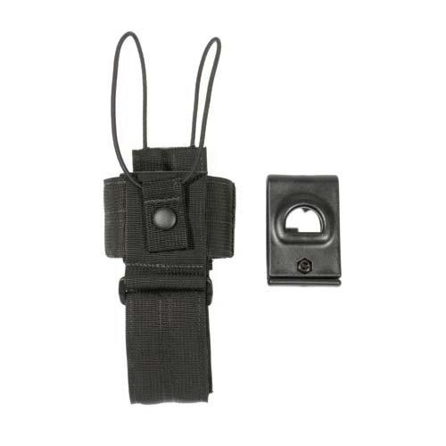 BLACKHAWK! Traditional Black CORDURA Universal Radio Carrier - Swivel Loop