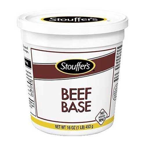 Nestle Stouffers No Added MSG Beef Base, 1 Pound - 12 per case.