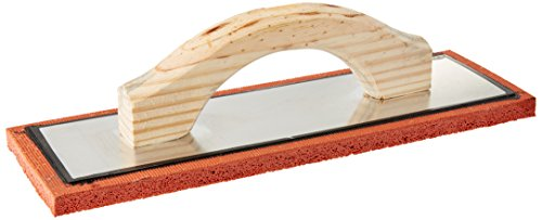 (Bon 83-113 12-Inch by 4-Inch by 1/2-Inch Red Rubber Float with Wood)