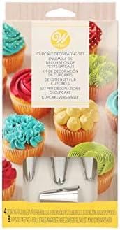 420 Pcs Baking Supplies Kit DIY Cake Cupcake Decorating Icing tips Set Tools New