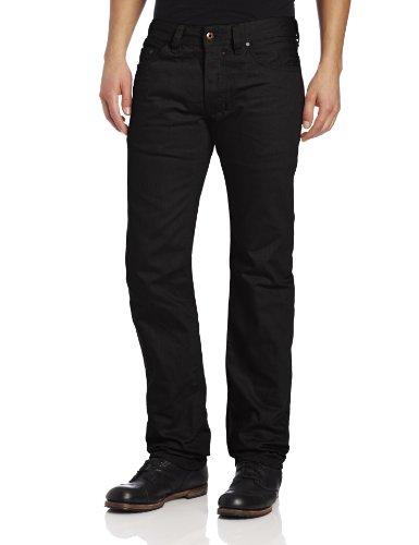 Diesel Men's Safado Regular Slim Straight-Leg Jean 008QU, Black, 32x32